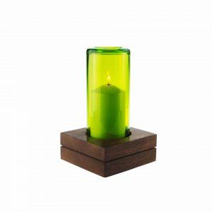Blocco Double mit Farbglas lemongrass